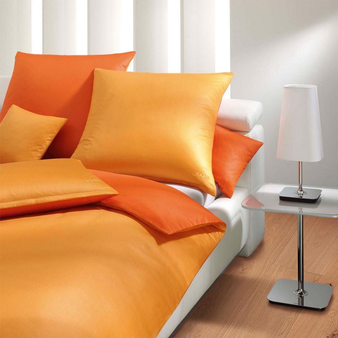 Bettwäsche Micro Pattern Orange 4040-8 – 100% Baumwolle – Mehrfarbig – 135 x 200 cm, Joop günstig online kaufen