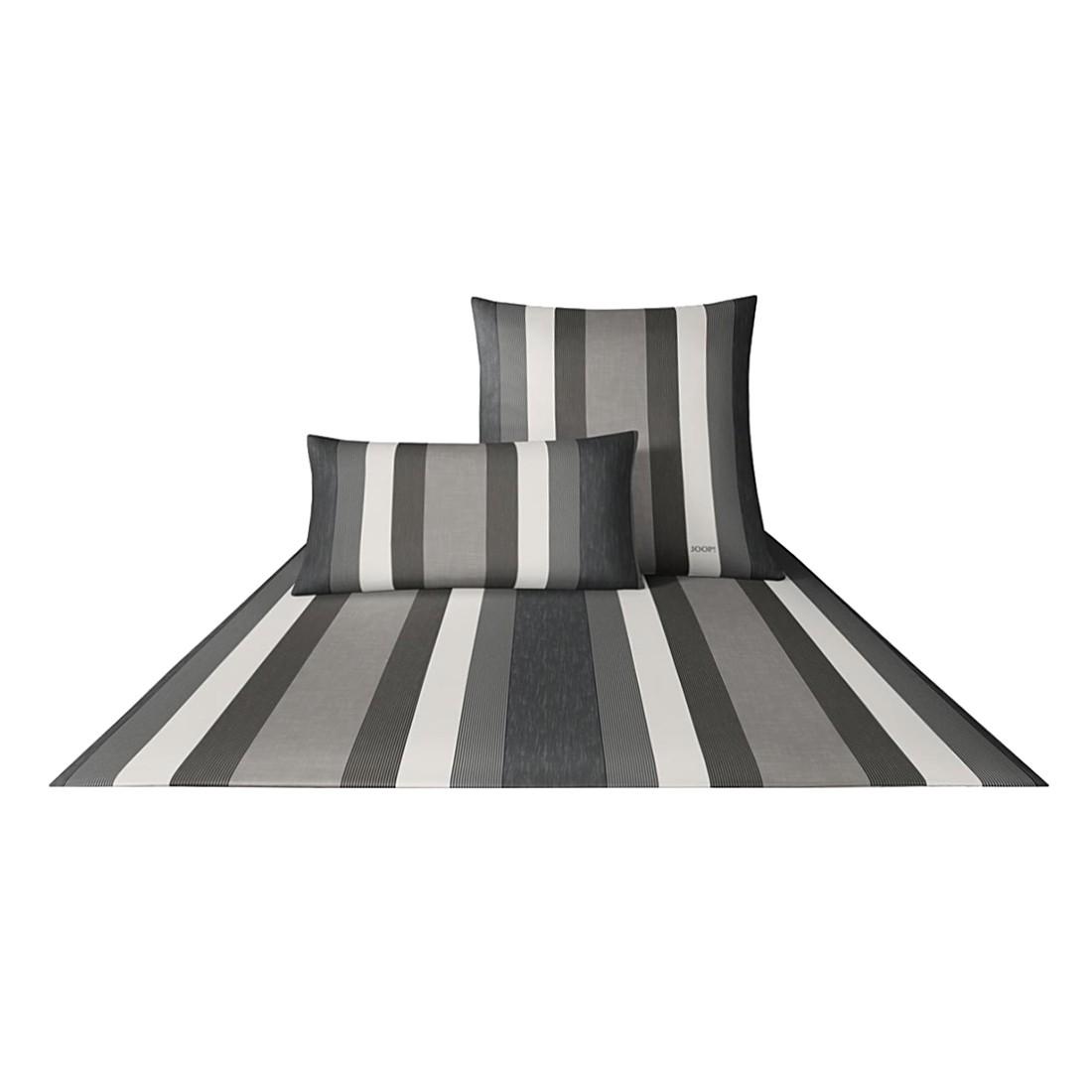 Bettwäsche Rapid Stripes Kiesel 4043-9 – 100% Baumwolle – Mehrfarbig – 135 x 200 cm, Joop online bestellen