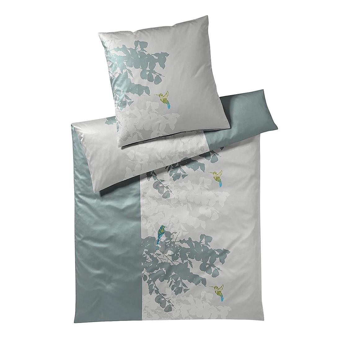 Bettwäsche Sierra Jade – Baumwolle – Mehrfarbig – 155X220 cm + 80X80 cm, Yes for bed günstig kaufen