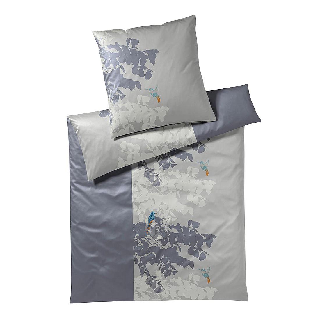 Bettwäsche Sierra Platin – Baumwolle – Mehrfarbig – 155X220 cm + 80X80 cm, Yes for bed online kaufen