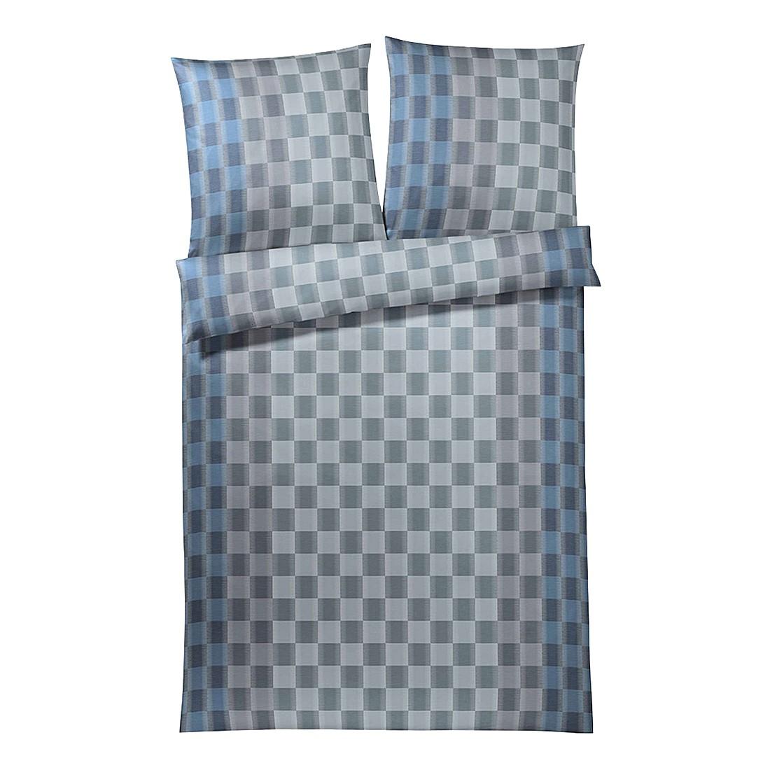 Bettwäsche Terrazo Aqua – Baumwolle – Blau – 135X200 cm + 80X80 cm, elegante kaufen