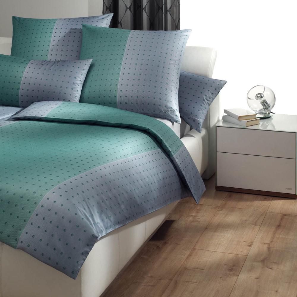 Bettwäsche Tinted Dots aqua marin 4048-4 – 100% Baumwolle – Mehrfarbig – 155 x 220 cm, Joop online kaufen