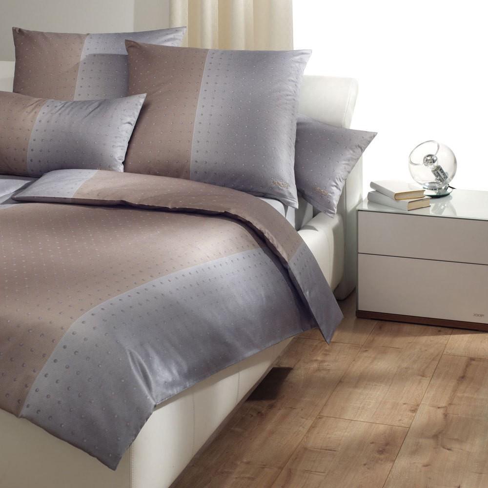 Bettwäsche Tinted Dots graphit 4048-7 – 100% Baumwolle – Mehrfarbig – 135 x 200 cm, Joop günstig online kaufen
