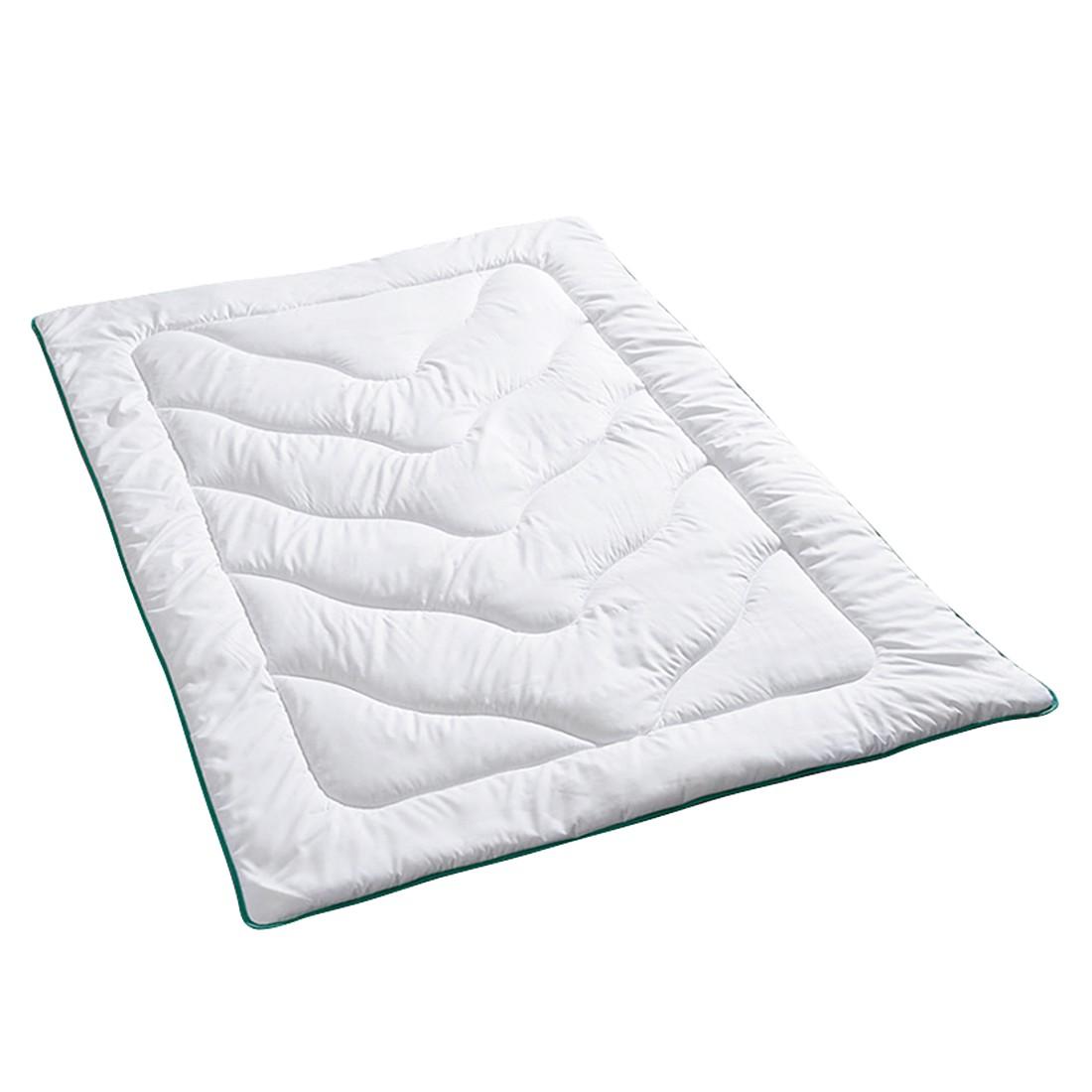 Bettwaren-Shop Sommerdecke cool touch – 100% Polyester Weiß – Ausführung 155×220 cm, Bettwaren-Shop jetzt kaufen
