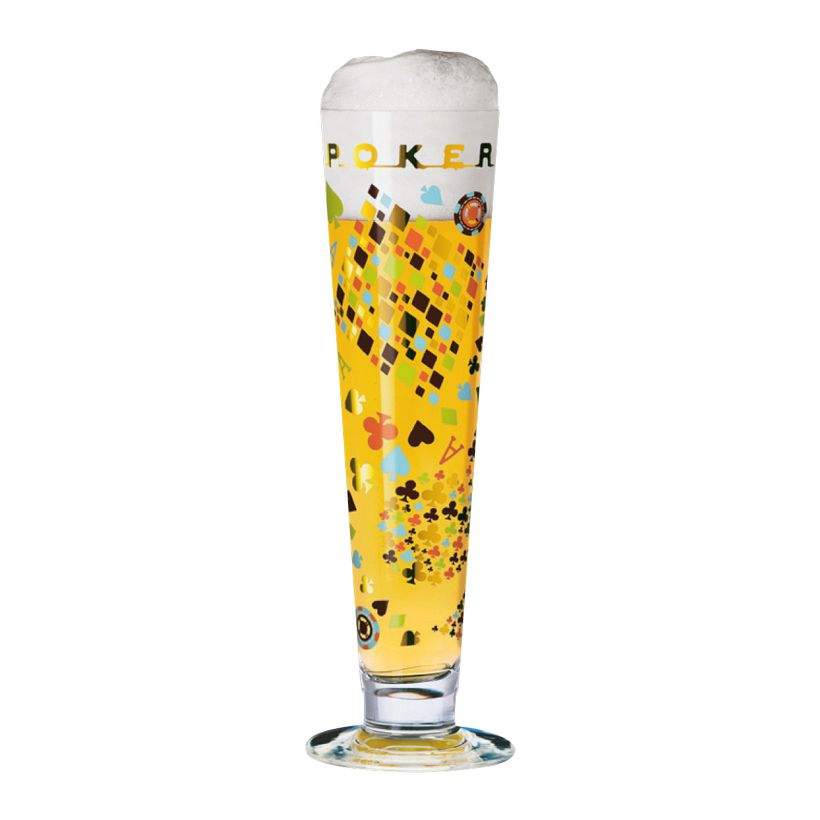 Bierglas mit Bierdeckeln Beer – 300 ml – Design Juliane Breitbach – 2011 – 1010188, Ritzenhoff günstig