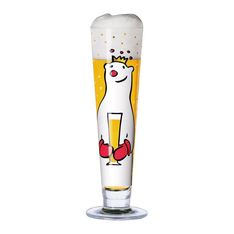 Bierglas mit Bierdeckeln Beer – 300 ml – Design Julien Chung – 2005 – 1010110, Ritzenhoff günstig kaufen