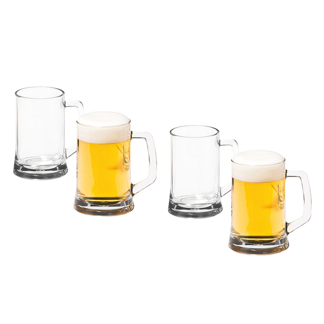 Bierseidel Beer Generation (4er-Set) – Klar, Leonardo günstig bestellen