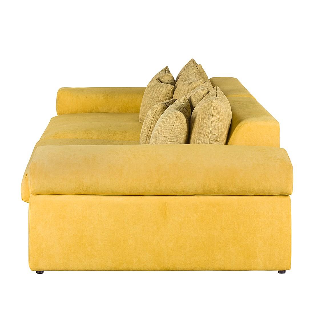 bigsofa naomi ii samtstoff gelb mooved m wu 03. Black Bedroom Furniture Sets. Home Design Ideas