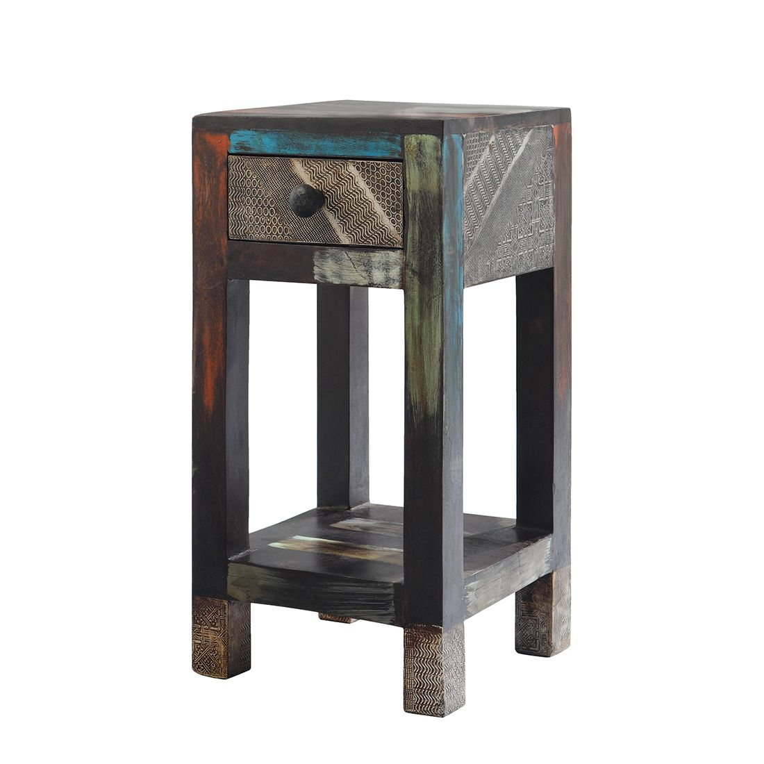 image bloemenzuil goa meerkleurig wolf m bel. Black Bedroom Furniture Sets. Home Design Ideas