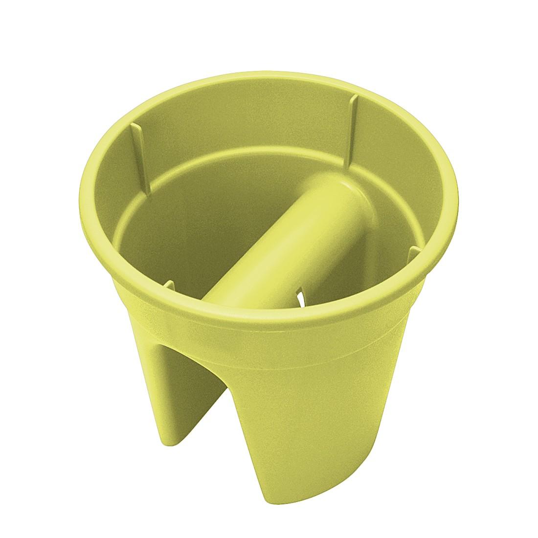 Blumentopf Flowerclip (3er-Set) – Kunststoff Hellgrün, Khw kaufen