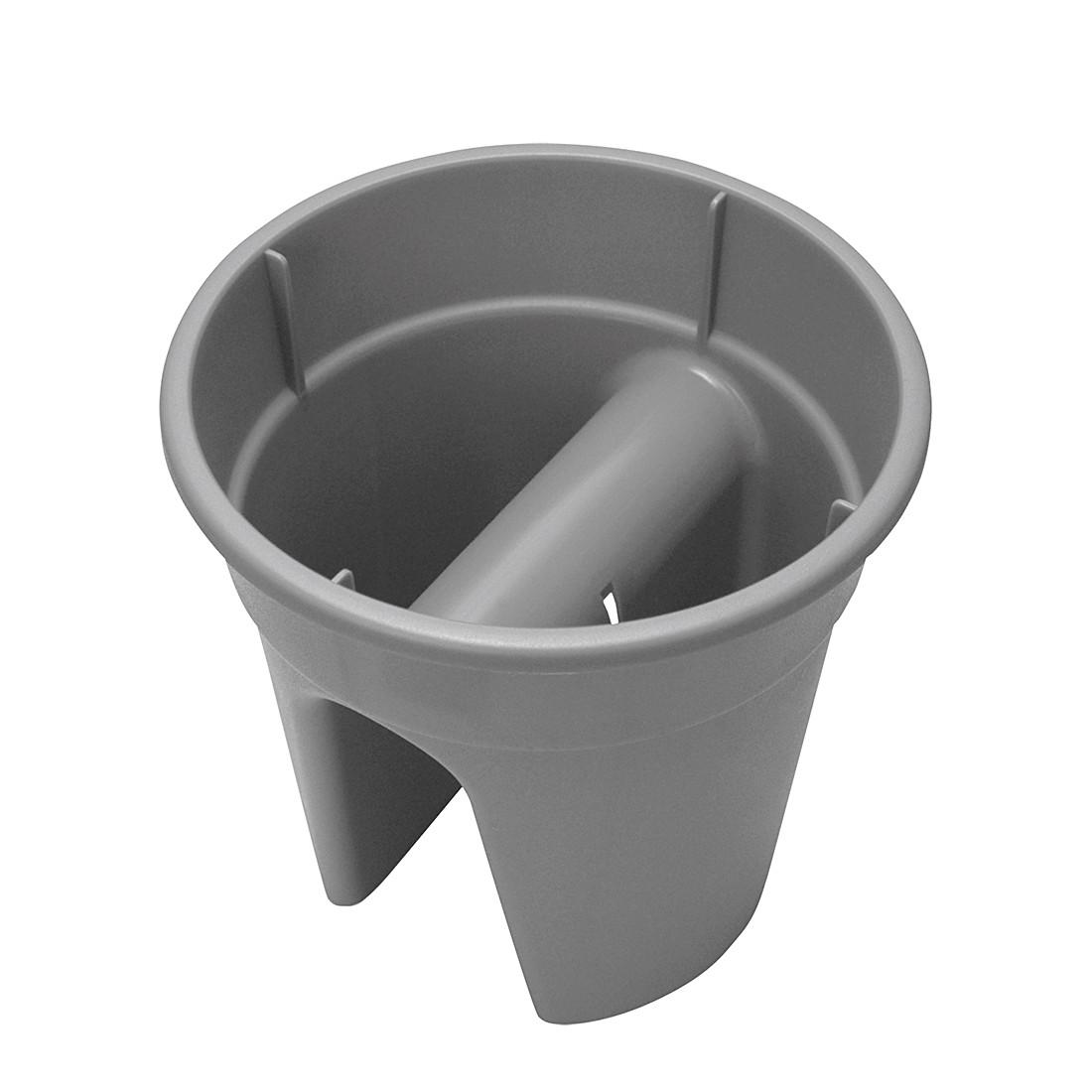 Blumentopf Flowerclip (3er-Set) – Kunststoff Grau, Khw bestellen