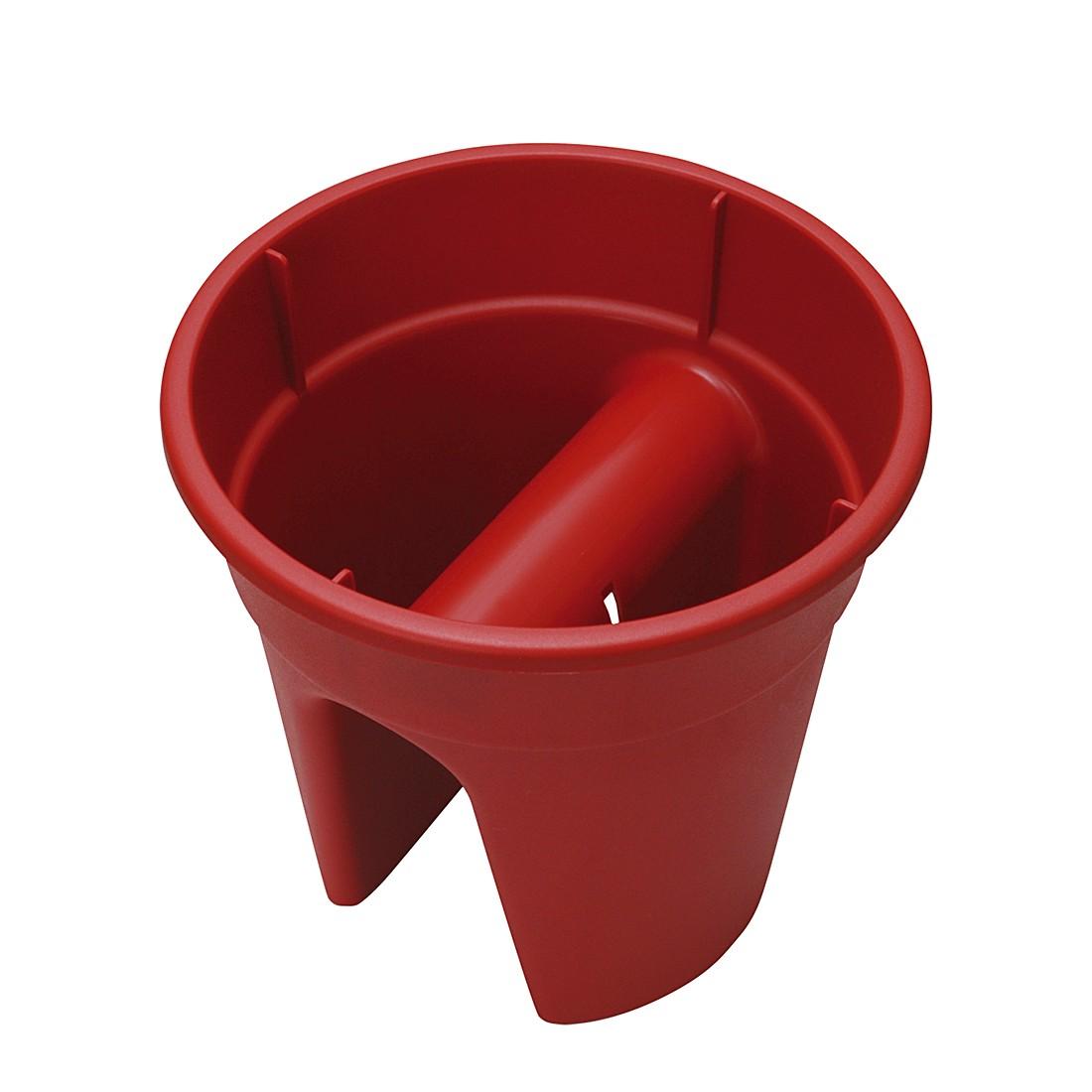 Blumentopf Flowerclip (3er-Set) – Kunststoff Rot, Khw bestellen
