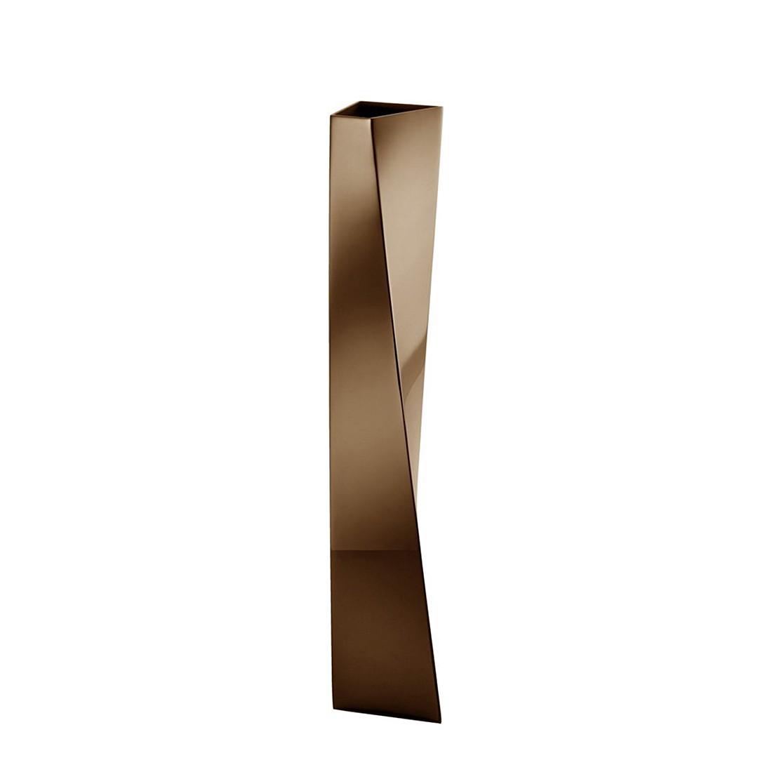 Blumenvase Crevasse – Brown Metal, Alessi online bestellen