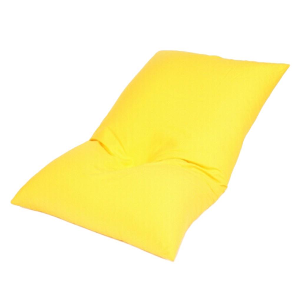 Bodenkissen Baumwolle imprägniert Gelb – 130 x 80 cm, KC-Handel günstig kaufen