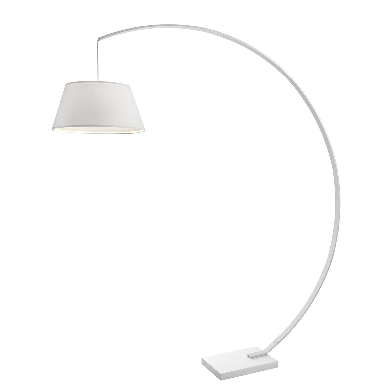 Bogenleuchte Arc ● Metall/Webstoff ● Weiß- Sompex A++