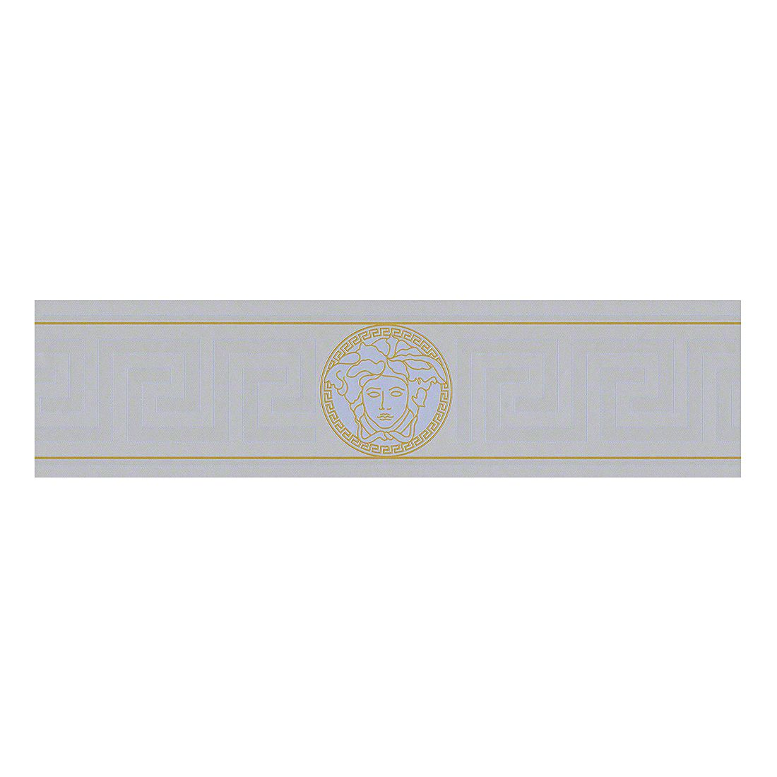 Bordüre Greek – silberfarben – goldfarben – fein strukturiert – glatt, VERSACE Home bestellen