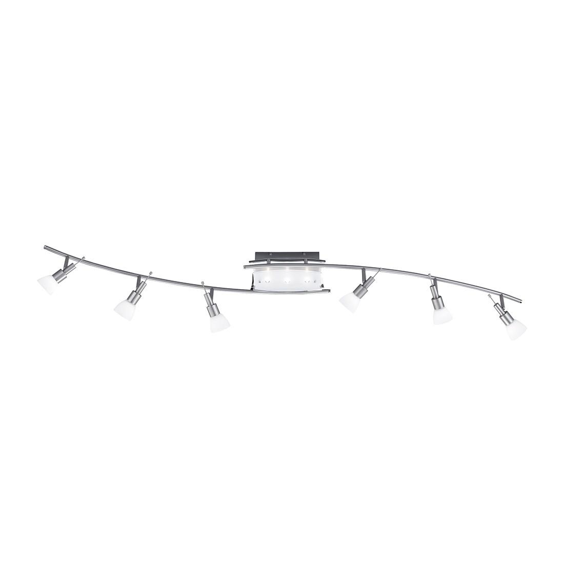 Deckenleuchte Bow ● 6-flammig ● dreh und schwenkbar ● Stahl/Opalglas- Paul Neuhaus B