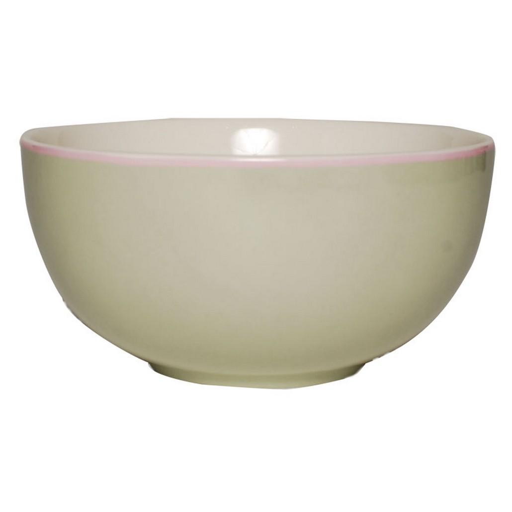 Bowl – Design Solid Green – New Bone China Porzellan – Einzelfarbig Schale in Grün, Aspegren Denmark kaufen