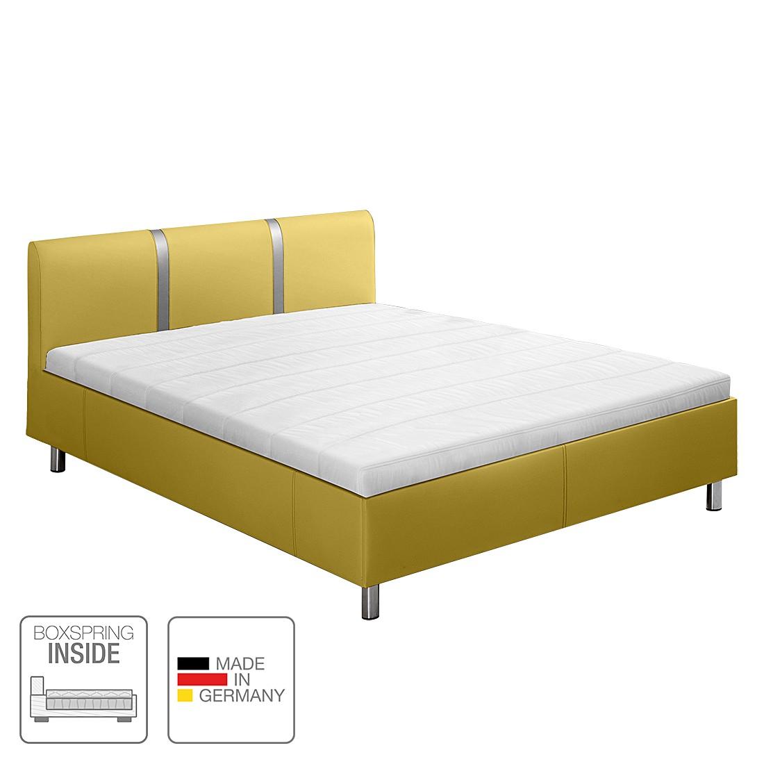 boxspring inside bett victoria kunstleder 180 x 200cm h3 ab 80 kg. Black Bedroom Furniture Sets. Home Design Ideas