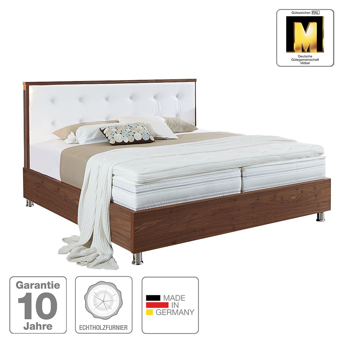 nachttisch boxspring excellent belvga luxury x with. Black Bedroom Furniture Sets. Home Design Ideas