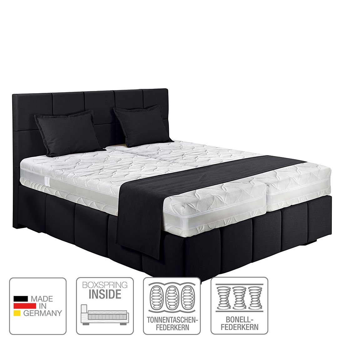 betten online kaufen. Black Bedroom Furniture Sets. Home Design Ideas