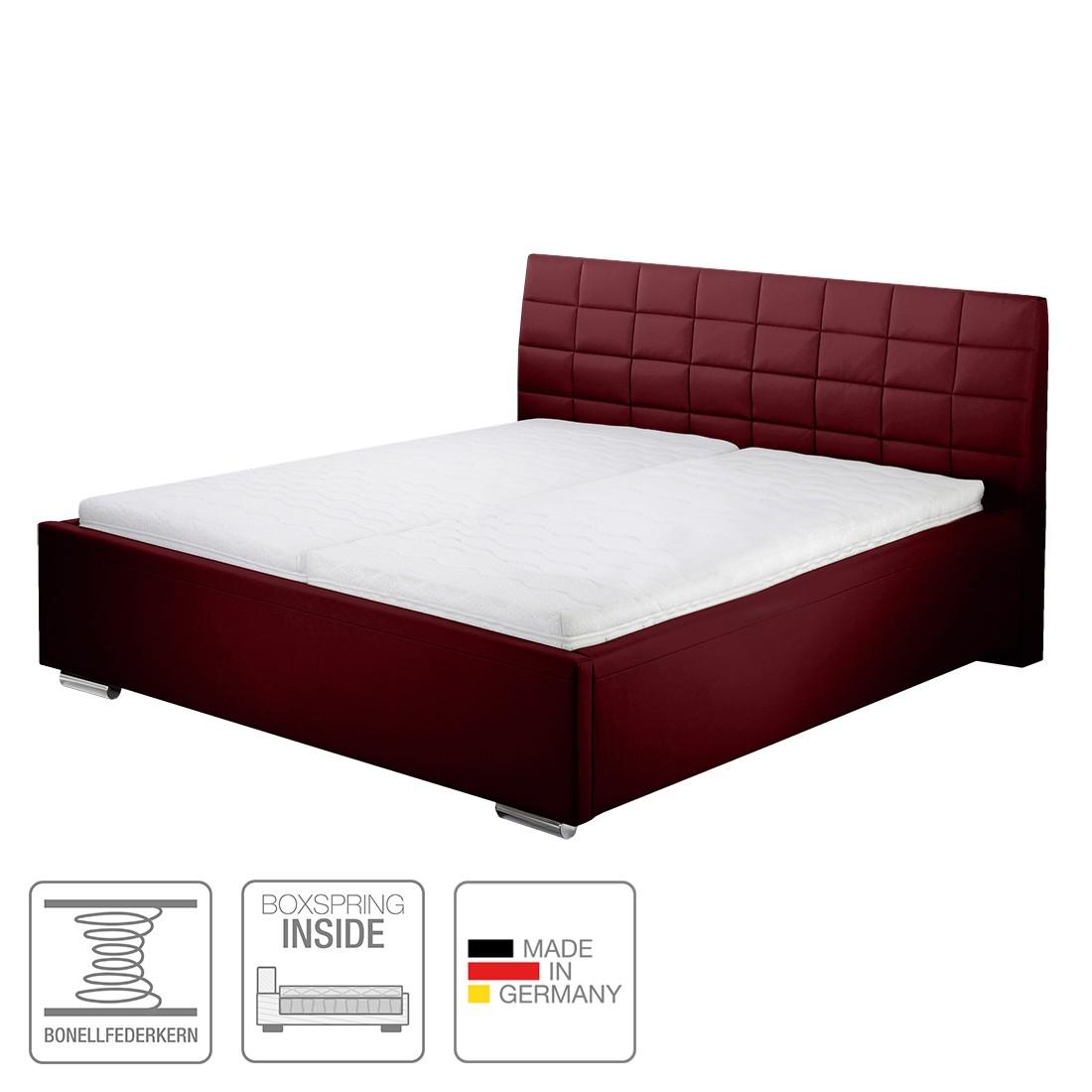 boxspring inside bett victoria kunstleder 140 x 200cm h4 ab 100 kg. Black Bedroom Furniture Sets. Home Design Ideas