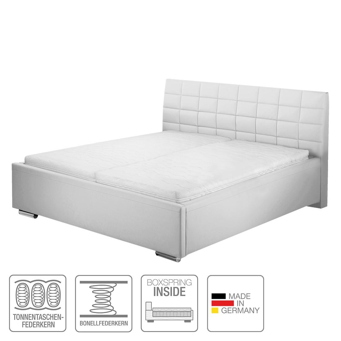 boxspring inside bett victoria kunstleder 160 x 200cm h4 ab 100 kg. Black Bedroom Furniture Sets. Home Design Ideas