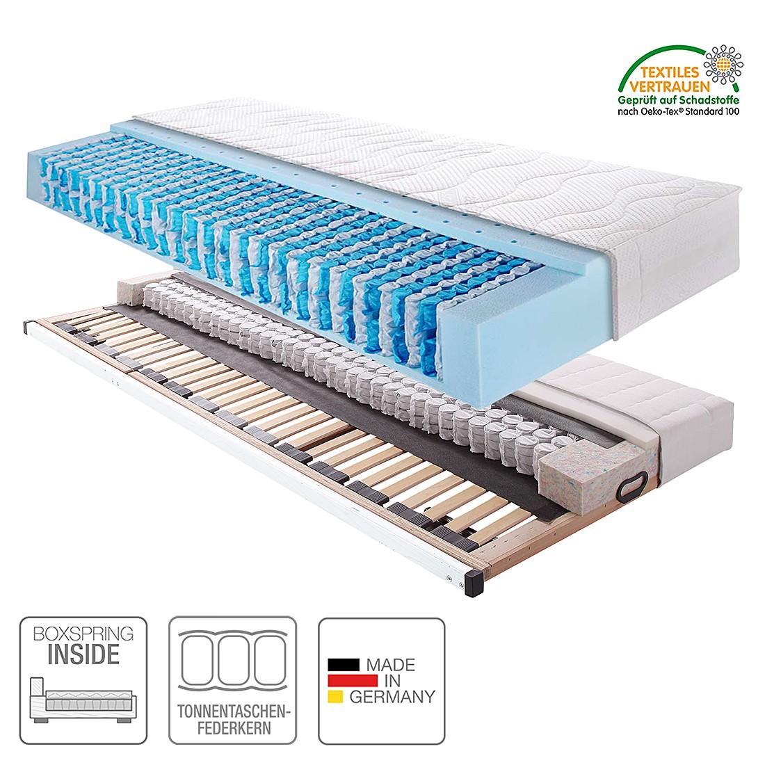 Boxspring Inside System Sleep Luxus II – 100 x 200cm – H2 bis 110 kg, Breckle online bestellen