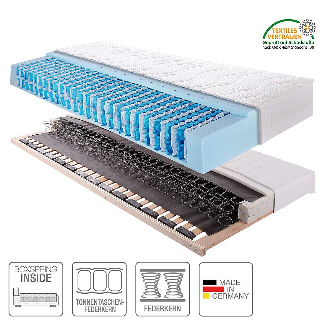 Boxspring Inside System Sleep Luxus VI – 90 x 200cm – H2 bis 110 kg, Breckle kaufen