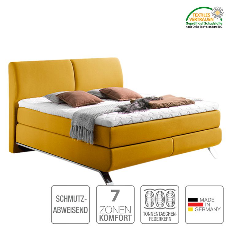 boxspringbett atrium webstoff h2 bis 80 kg h3 ab 80 kg viscoschaumtopper. Black Bedroom Furniture Sets. Home Design Ideas