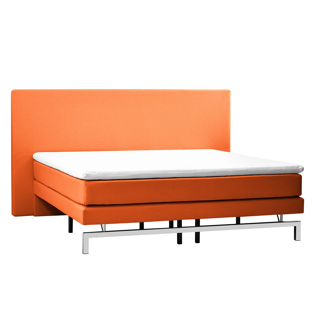 Boxspringbett peach