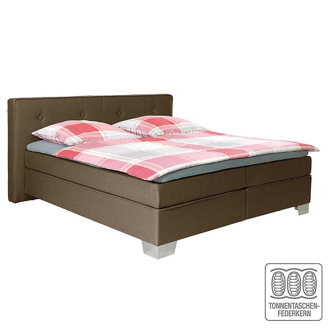 Boxspringbett Soft Box – Webstoff – 160 x 200cm – H3 ab 80 kg – Braun, Tom Tailor jetzt bestellen