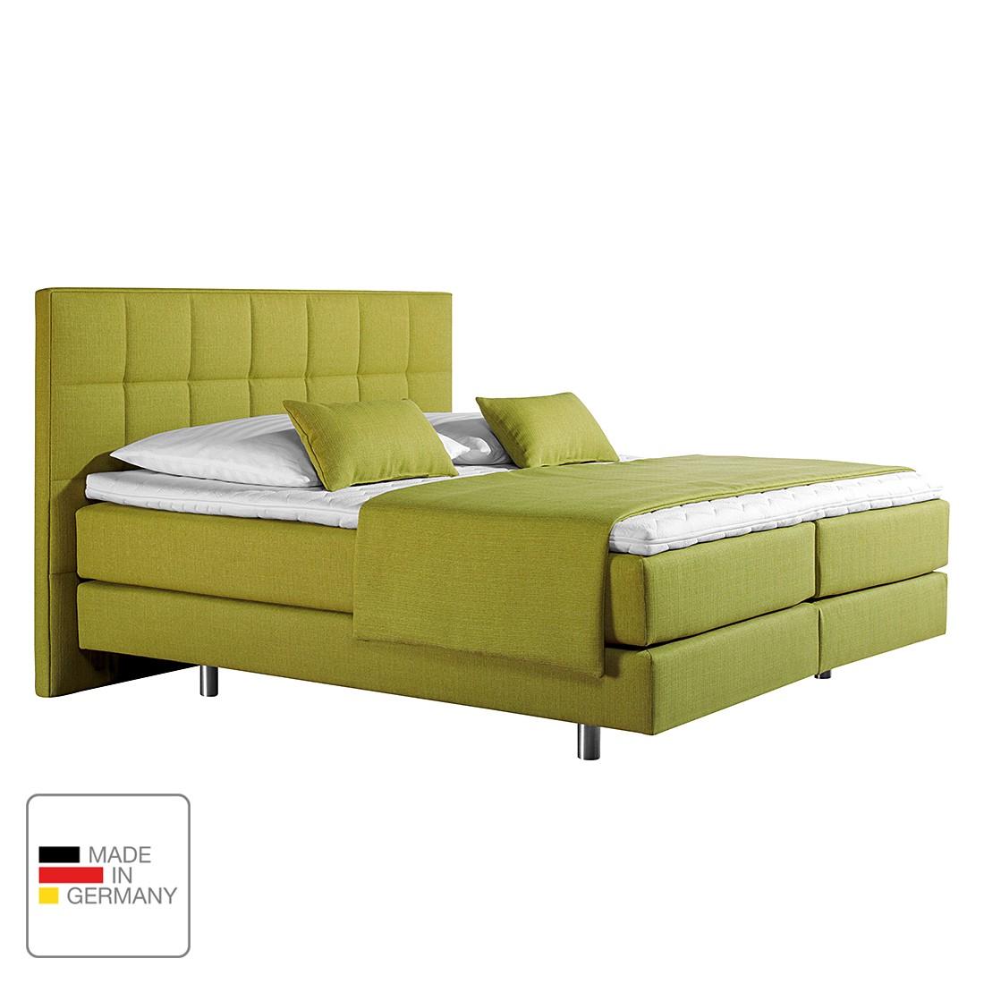 boxspringbett tevin webstoff 160 x 200cm h2 bis 80 kg tonnentaschenfederkernmatratze. Black Bedroom Furniture Sets. Home Design Ideas
