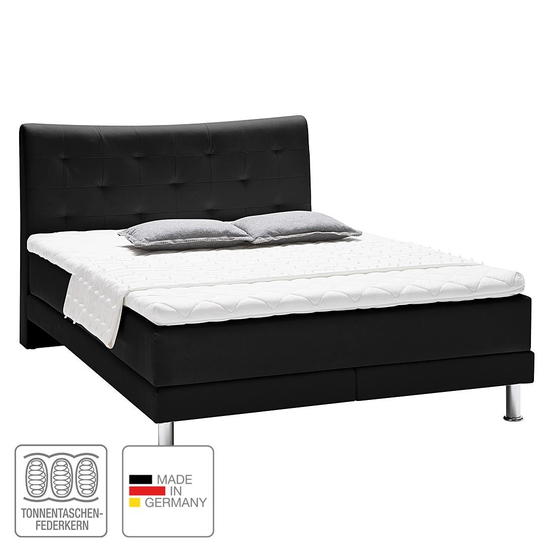 boxspringbett vega kunstleder 180 x 200cm h2 bis 80 kg h3 ab 80 kg komfortschaum. Black Bedroom Furniture Sets. Home Design Ideas