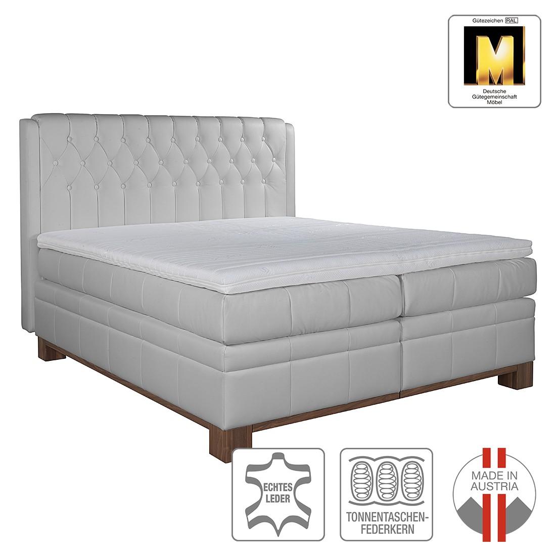 boxspringbett wellington 160 x 200cm h2 bis 80 kg grau ada premium jetzt kaufen. Black Bedroom Furniture Sets. Home Design Ideas