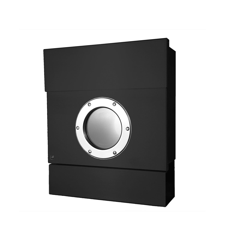 Briefkasten Letterman II - Stahl - Schwarz, Radius