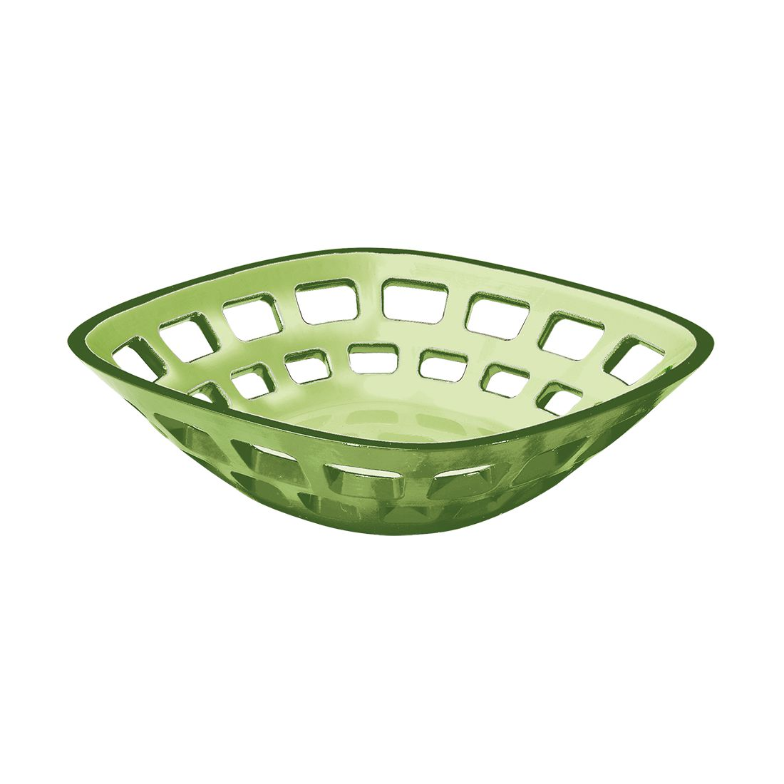 Brotkorb Glam – Kunststoff Apfelgrün, Guzzini günstig bestellen