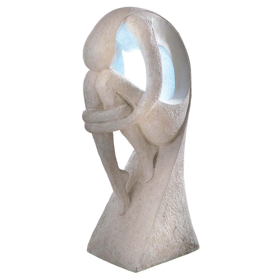 Brunnen Figur – Polyresin – Weiß, PureDay günstig bestellen