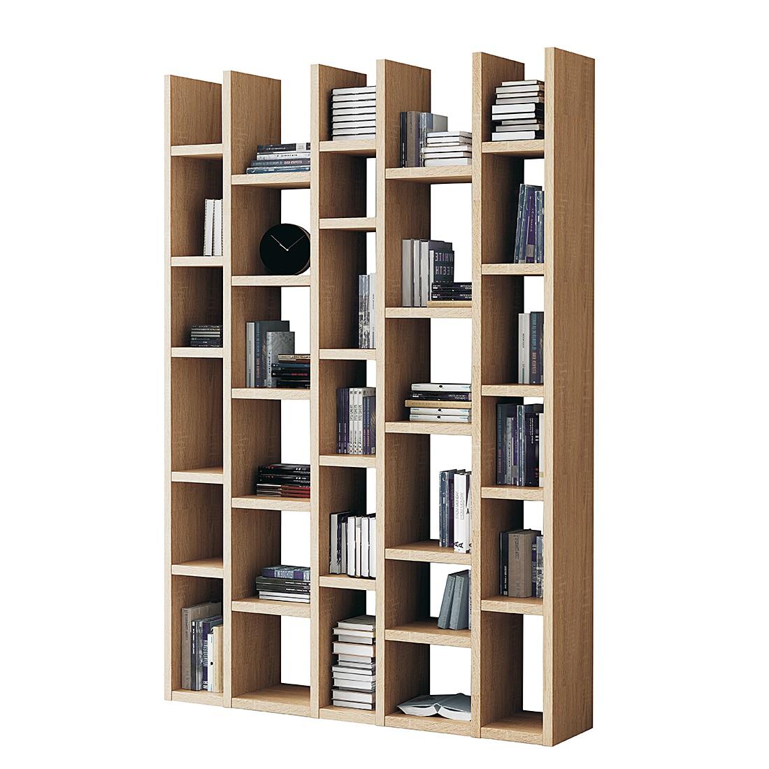 Bücherregal Emporior I – Sonoma Eiche Dekor, loftscape günstig