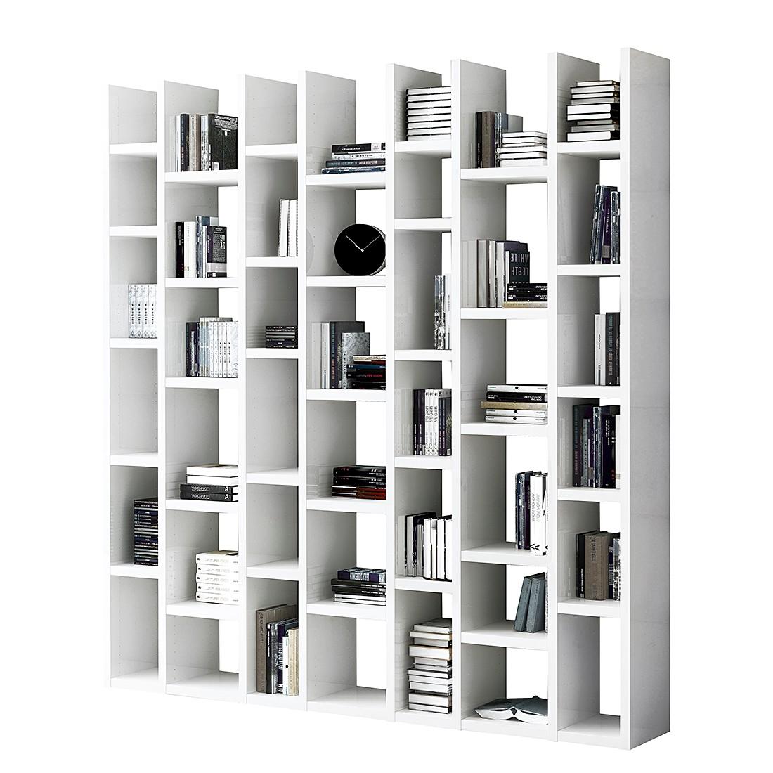 Bücherregal Emporior Ii Weiß Hochglanz Weiß Schrank