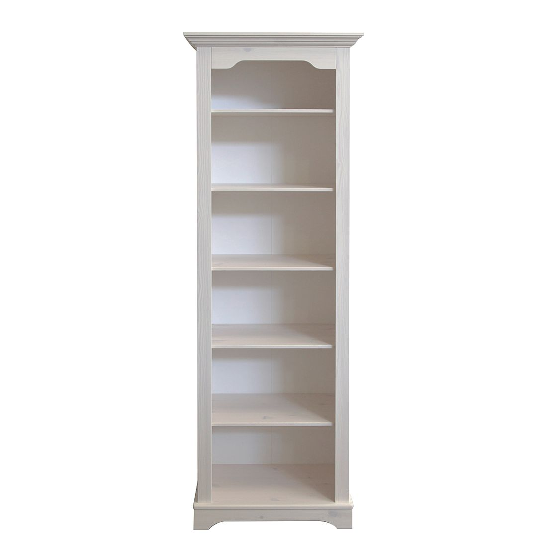 Bücherregal Karlotta - Kiefer Massivholz/White Wash - Schrank.info ...