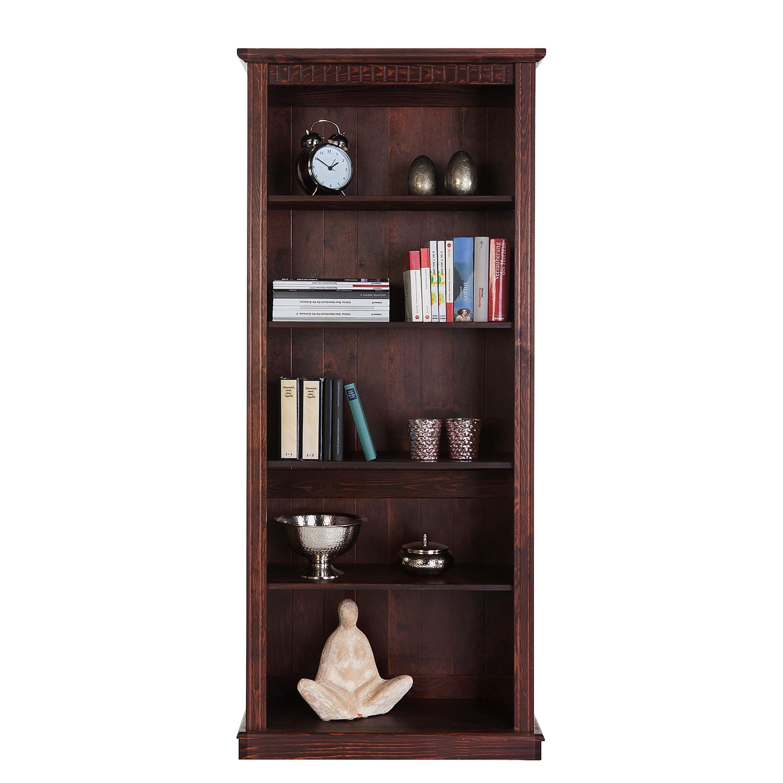 libreria karlotta legno massello pino bianco prezzo e offerte sottocosto. Black Bedroom Furniture Sets. Home Design Ideas