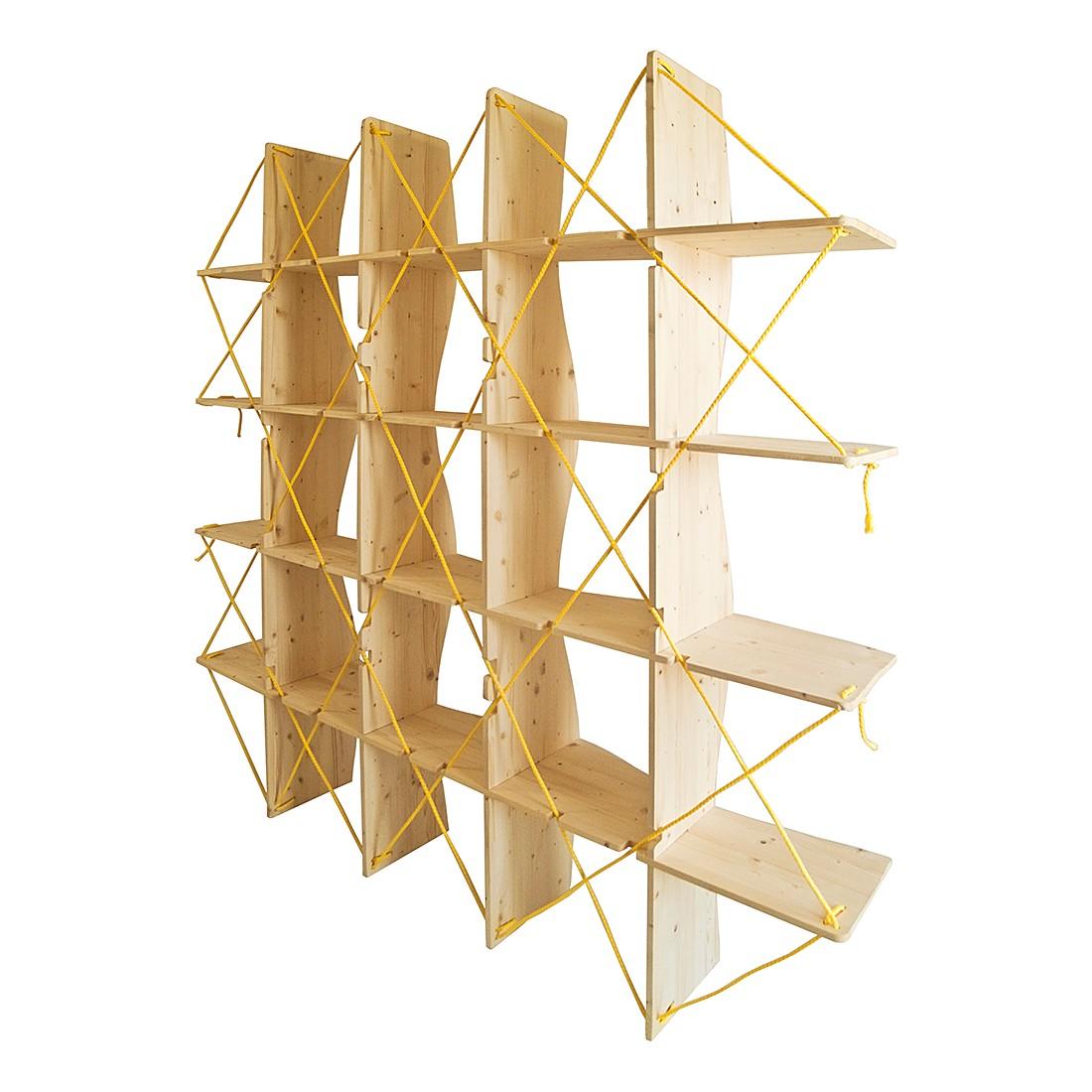 Bücherregal Sail – Pinie Dekor/Gelb, Metrocuadro Design bestellen