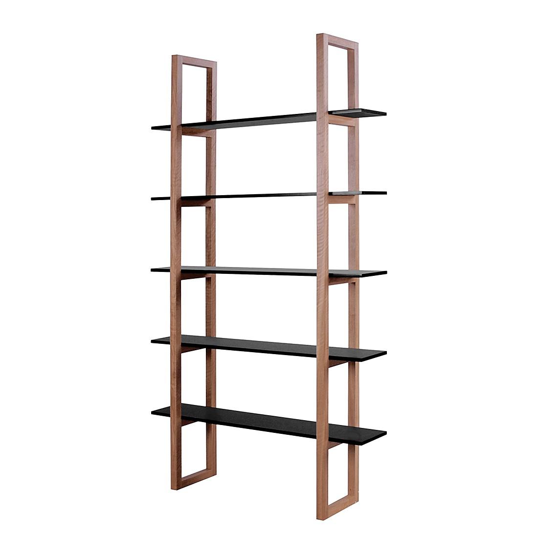 b cherregal store eiche teilmassiv schwarz m rteens. Black Bedroom Furniture Sets. Home Design Ideas