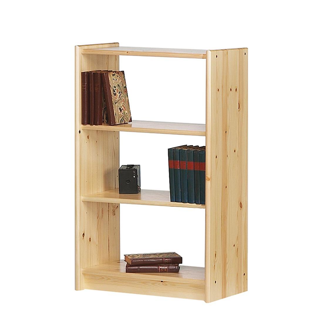 Bücherregal Tomke I - Kiefer massiv - Natur, Steens