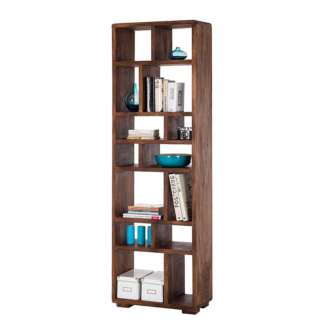 Bücherregal Trangle - Sheesham Massiv, ars manufacti