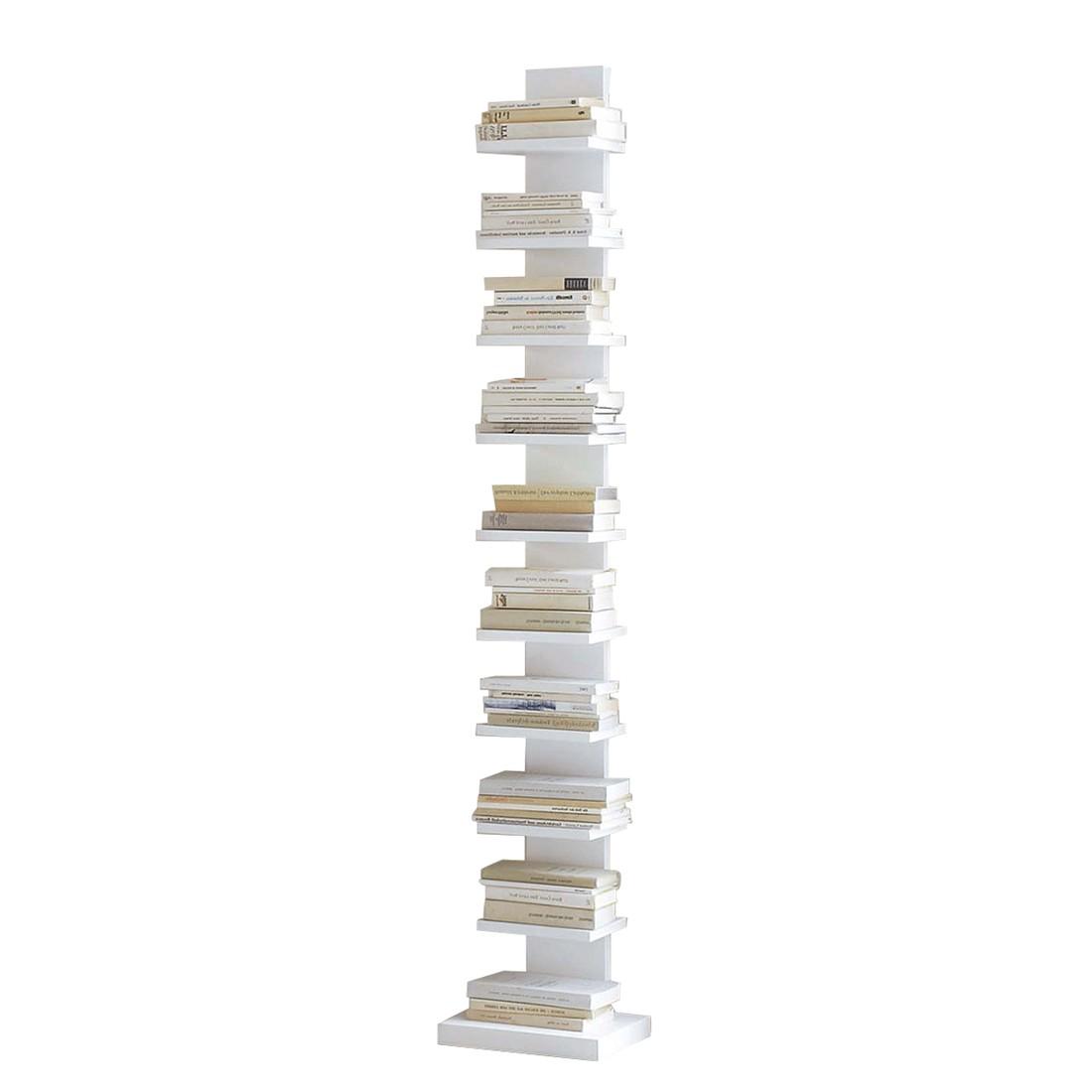 Bücherregal weiß schmal  Bücherregal Zoey - Holz - Weiß - Schrank.info | Schrank.info