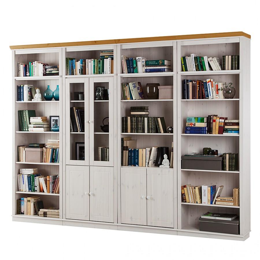 Boekenkast Open Kasten En Boekenkasten In Whitewash Of Blank Gelakt ...