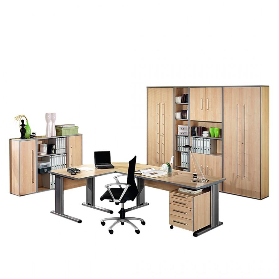 Büro Kirk Extra - Ahorn-Dekor, Wellemöbel