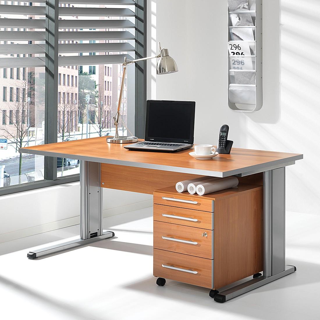 Büro-Set Kirk III (2-teilig) – Kirschbaum Dekor, Wellemöbel online bestellen